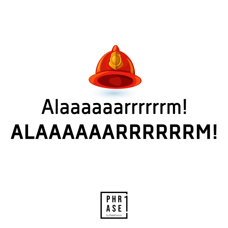 Alarm! Alaaaaaarrrrrrm!