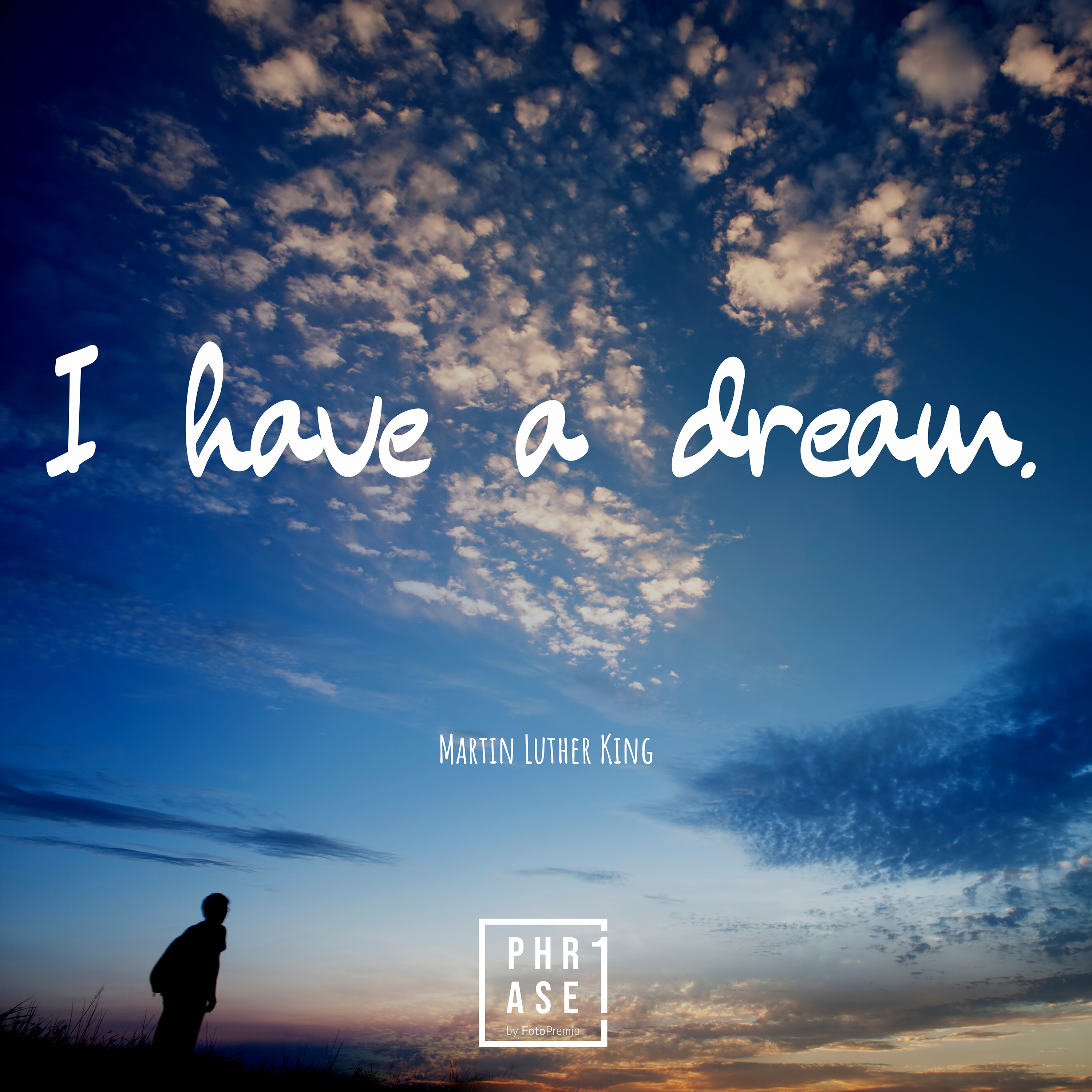 I have a dream. - Martin Luther King⠀