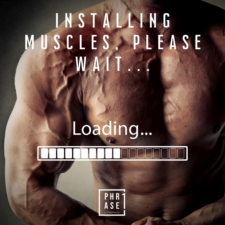 Installing Muscles, please wait