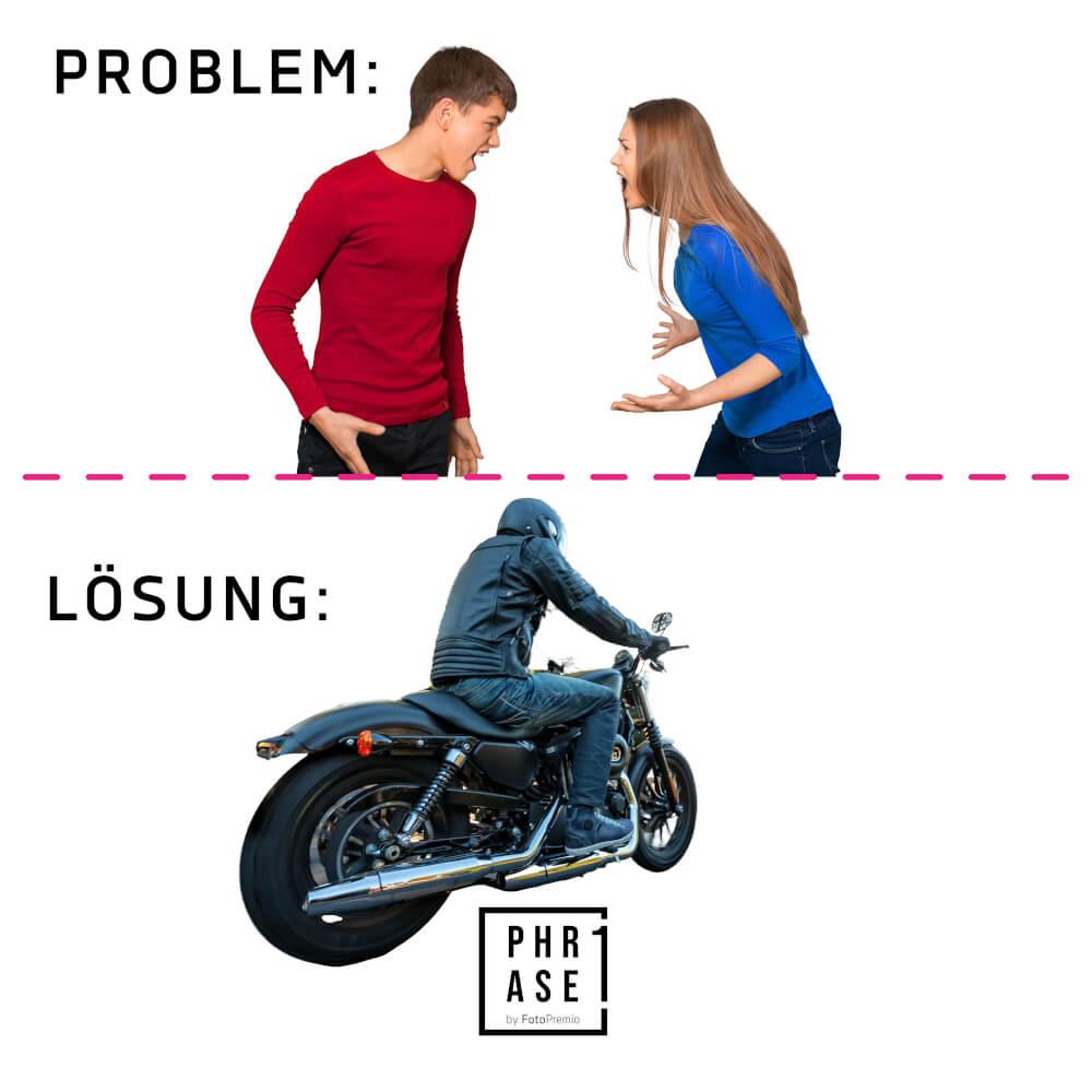 Problemlösung / Motorrad